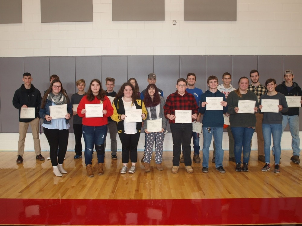 Sanford Regional Technical Center Honors Students