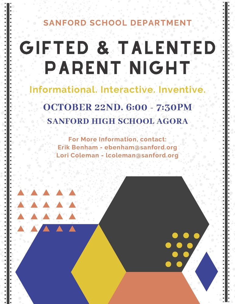 Gifted & Talented Parent Night