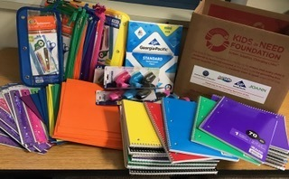 Teacher Wins a Classroom Supply Box
