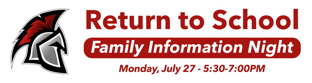 Return to School Family Information Night
