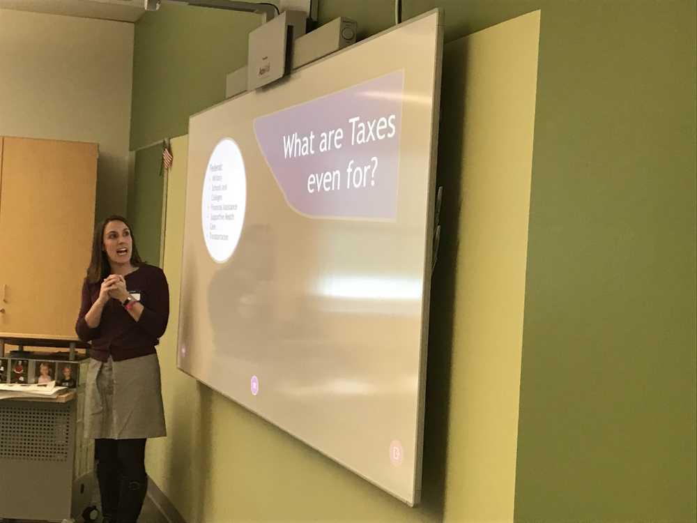 SIS Joins with Financial Literacy Classes to Talk Taxes
