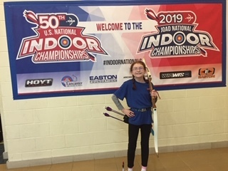 CJL's Emma Harmon - 4th in the nation.