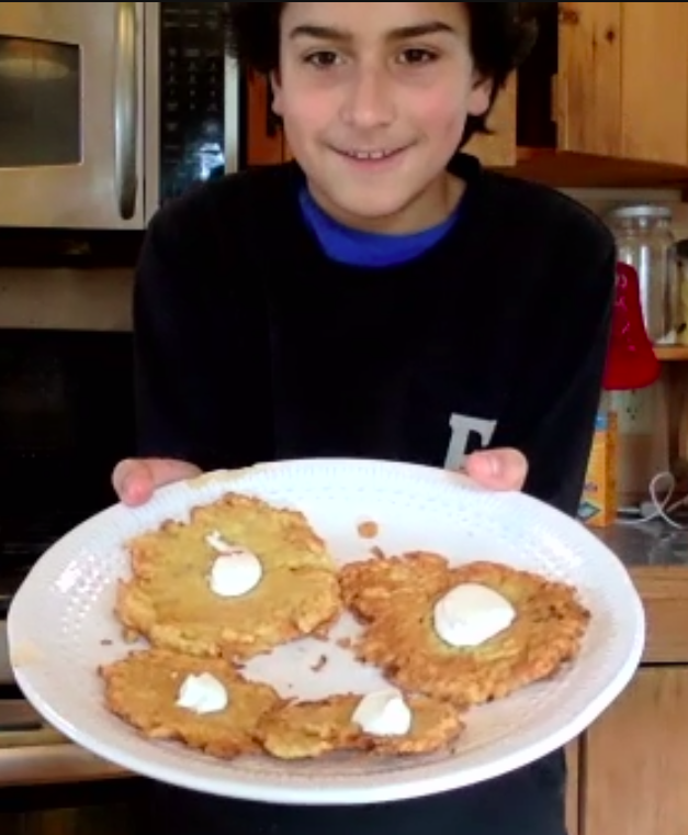 LATKES : It's what's for lunch!