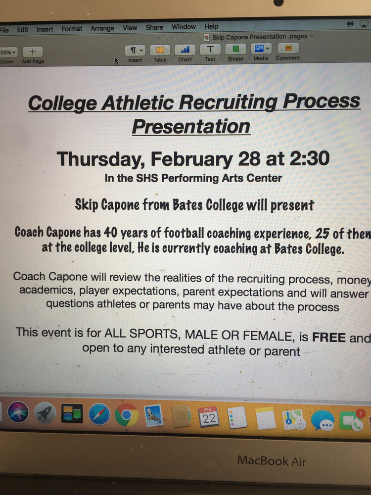 Interested in college athletics?