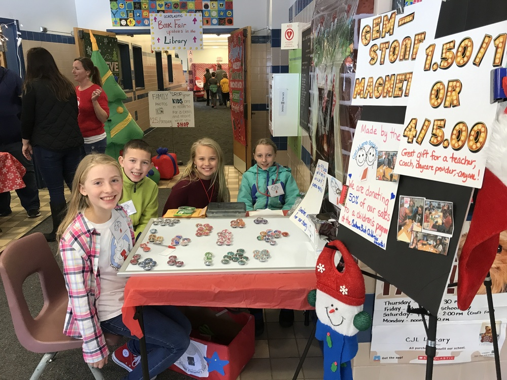 CJL's 5th Grade Spirit Team Raises Funds for Barbara Bush's Children's Hospital