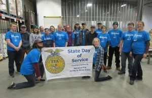 Landscaping and Horticulture Program Participates in Day of Service