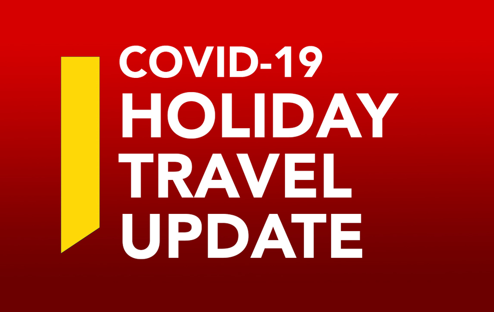 Updated COVID-19 Travel Requirements 12.14.20