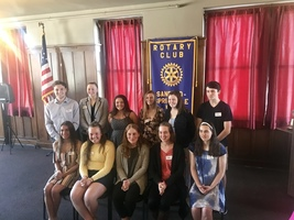 Rotary Club Announces Scholarship Winners!