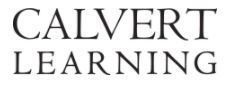 Calvert Learning Information Announced
