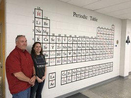 Periodic Table Mural at SHS