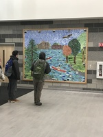 New Mural Adorns SHS Main Entrance