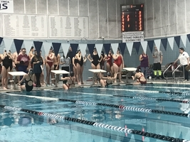 Sanford Spartan Swimmers split meet with Windham Eagles