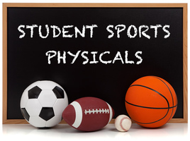 2019 - 2020 Sports Physicals Announced