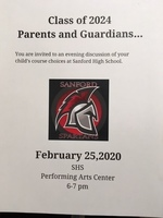 Learn About Course Selections at Sanford High School