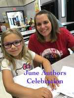 Ms. Adams' and Mrs. Giberti's Writers Celebrate with Parents