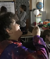 5th Graders Learn the Moon's Phases