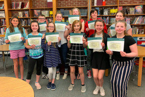 Woodmen's Speech Contest Give Voice to SJHS Students