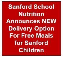 NEW Delivery Option for Free Meals for Sanford Children
