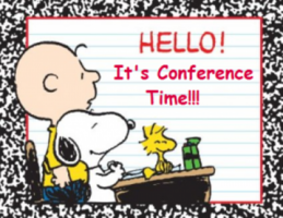 Parent/Teacher/Student Conferences!