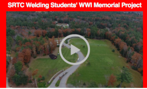 Welding Students' WW1 Memorial Project