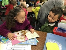 First Graders Celebrate Reading