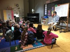 Chiropractor Teaches Students at CJL