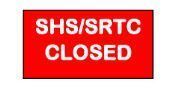 """Outbreak"" Status Closes SHS/SRTC Until Further Notice"
