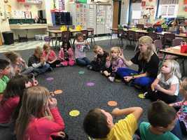 Mrs. Breton Teaches Social-Emotional Learning Skills to 1st Graders