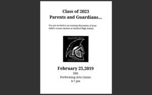 Class of 2023 Parent Meeting