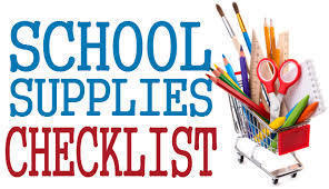 Student and Teacher Supply Lists