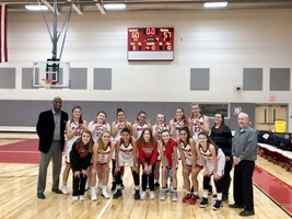 Girl's Basketball Wins First Game in New Gym