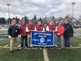 Football wins Class A Sportsmanship Award