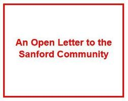 "Click here to read ""An Open Letter to the Sanford School Community"""