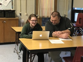 LC 3 Students Look to the Future During Student-led Conferences