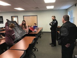 JMG Visits Sanford PD