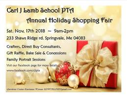 Carl J. Lamb School PTA Annual Holiday Shopping Fair