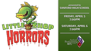 "SHS Presents ""LITTLE SHOP OF HORRORS"" this Weekend"