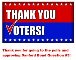 Thank You Voters!