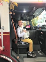 Firetruck Ride to School