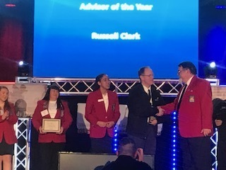 Skills USA Advisor of the Year