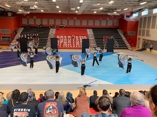 Sanford High School Winter Guard