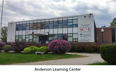 SCAE's Space is in the Anderson Learning Center